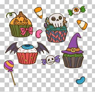Halloween Cake Cupcake Birthday Cake PNG