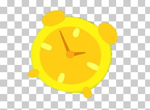 Alarm Clock Yellow PNG