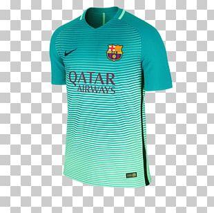 2015–16 FC Barcelona Season T-shirt UEFA Champions League Jersey PNG