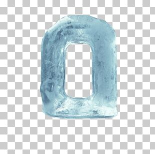 Ice Letter PNG