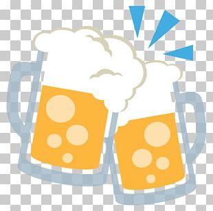 Beer Glasses Cocktail Emoji Alcoholic Drink PNG