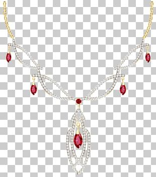 Necklace Diamond Jewellery Ring PNG