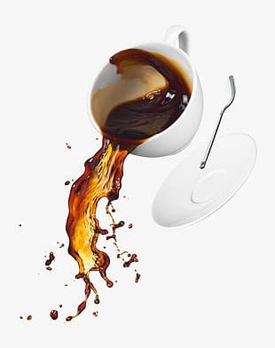Spilled Coffee PNG