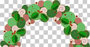 Christmas Ornament Leaf PNG