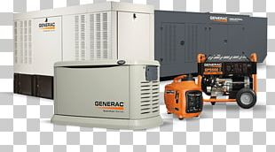 Generac Power Systems Standby Generator Electric Generator Electricity PNG