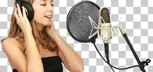 Singing Microphone Vocal Music Recording Studio PNG