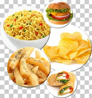 French Fries Junk Food Lunch Vegetarian Cuisine PNG