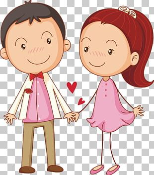 Drawing Couple Illustration PNG
