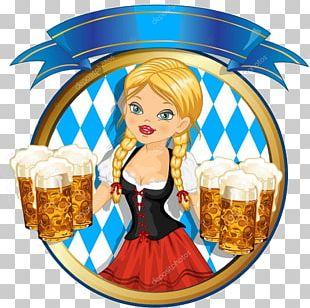 Beer Oktoberfest Bavaria Brewery Brown Ale Pretzel PNG