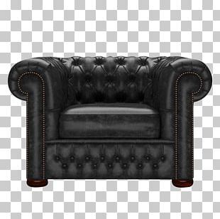 Club Chair Couch Loveseat Angle PNG