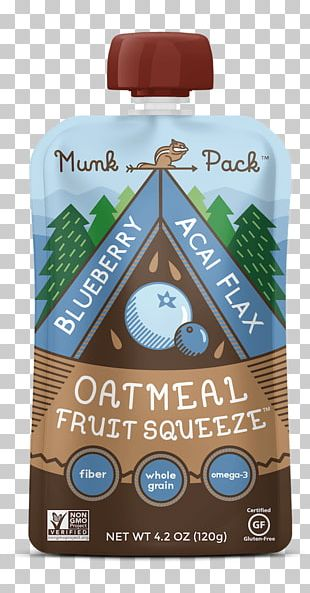 Oatmeal Blueberry Food Fruit Eating PNG