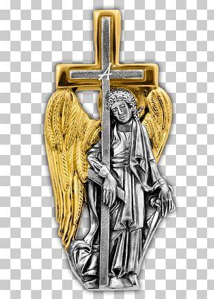 Crucifix Michael Guardian Angel Icon PNG