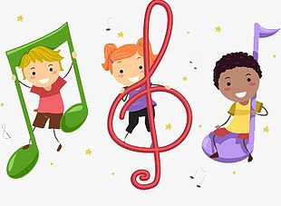 Children Playing Music PNG