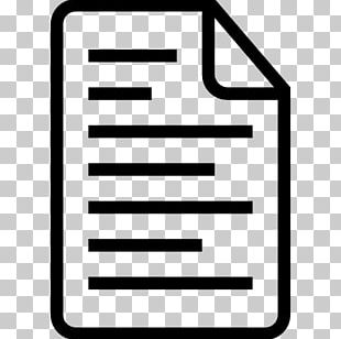 Plain Text Computer Icons Text File Document File Format PNG