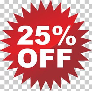 25% Discount PNG