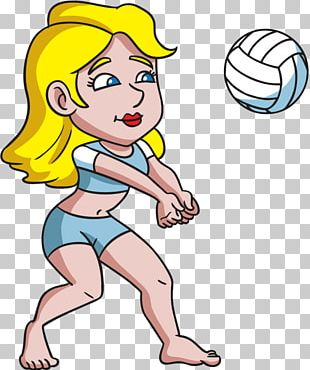 Beach Volleyball Woman ASICS PNG