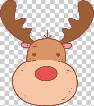 Reindeer Cartoon PNG