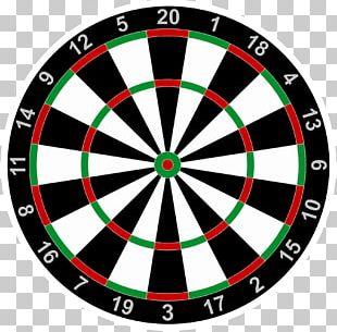 Darts Bullseye Game Stock Photography PNG