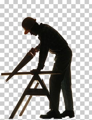 Silhouette Carpenter Wood Artisan PNG