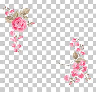 Wedding Invitation Flower Greeting Card Illustration PNG