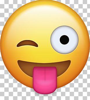 Emoji Tongue Icon PNG