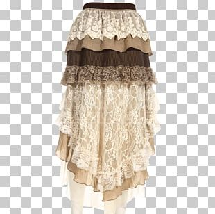 Gothic Fashion Skirt Steampunk Prom Dress PNG