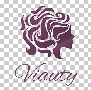 Beauty Parlour Woman Hairstyle Logo PNG