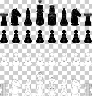 Chess Piece Chessboard Queen King PNG