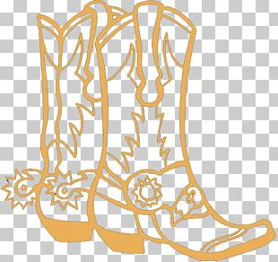 Colouring Pages Coloring Book Cowboy Boot PNG