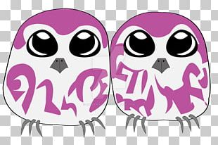 Owl Pink M PNG