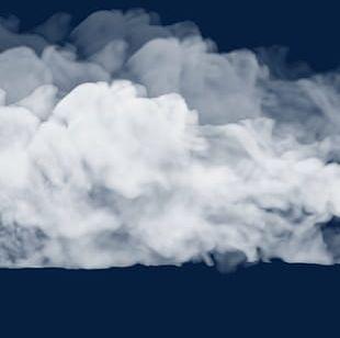 Fog Smoke White Gas Effect PNG