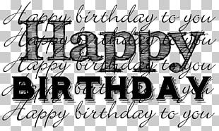 Birthday Greeting & Note Cards Art PNG