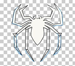 Spider-Man: Web Of Shadows Line Art Drawing PNG