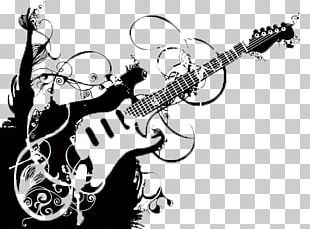 Guitar Grunge Musical Instrument PNG
