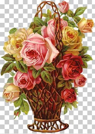 Garden Roses Cabbage Rose Floral Design Flower Bouquet Bokmärke PNG
