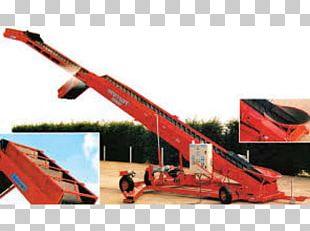 Grain Elevator Crane Material-handling Equipment Screw Conveyor PNG