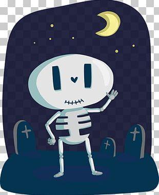 Halloween Human Skeleton Human Skull Symbolism PNG