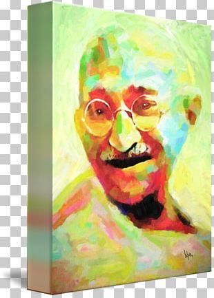 Mahatma Gandhi Visual Arts Painting Nonviolence PNG
