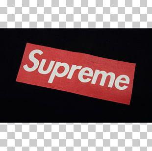 T-shirt Hoodie Supreme Top Logo PNG