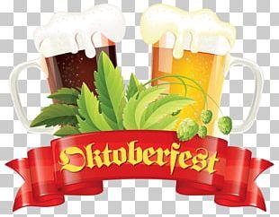 Oktoberfest Two Pints PNG