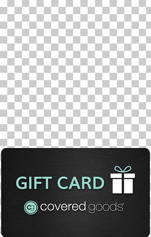 Gift Card Shopping Goods PNG