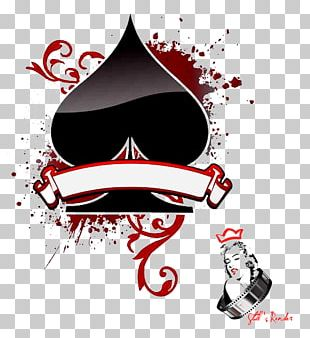 Texas Hold 'em Ace Of Spades Playing Card Suit PNG