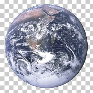 Earth The Blue Marble Apollo 17 Planet Geocentric Orbit PNG