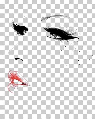 Cosmetics Fashion Illustration Make-up Artist Illustration PNG