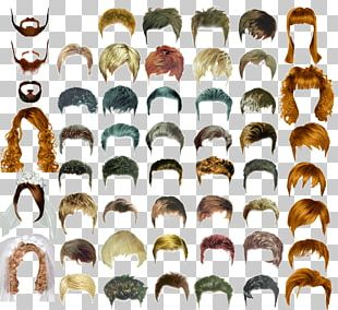 Hairstyle Long Hair Male PNG