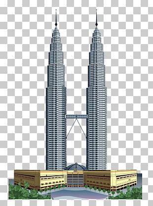 Petronas Towers Taipei 101 Burj Khalifa Willis Tower World Trade Center PNG