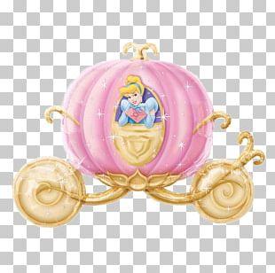 Cinderella Pumpkin Carriage Disney Princess PNG