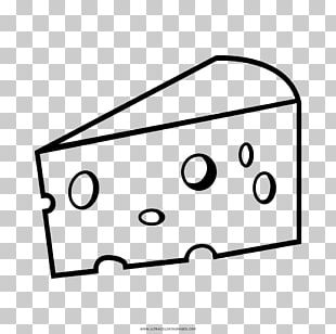 Coloring Book Cheese Drawing Food PNG