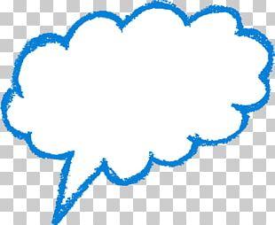 Speech Balloon Text Cloud PNG