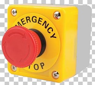 Emergency Kill Switch Push-button Label Electrical Switches PNG